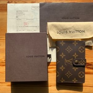 Louis Vuitton French Purse Wallet Monogram